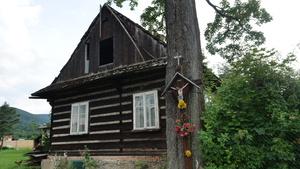 Stary dom Króliczków w Rzykach, fot. R. Pazdur