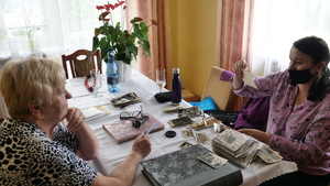 Helena Góra i Regina Pazdur fot. M. Kudłacik