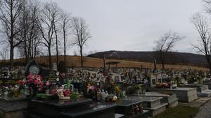 Cmentarz w Rzykach.
