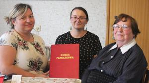 Monika Babińska, Regina Pazdur i Stefania z Kozłowskich Fiszebrandt