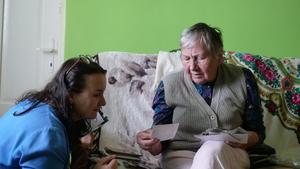 Regina Pazdur i Maria Cibor, fot. M. Kudłacik