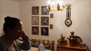 Sabina Marczyńska w swoim domu, fot. M. Kudłacik