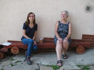 Genowefa Mikołajek i Daria Rusin, fot. B. Rusin