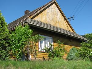 Dom przy ul. Podgórskiej w Zagórniku. fot. D. Rusin