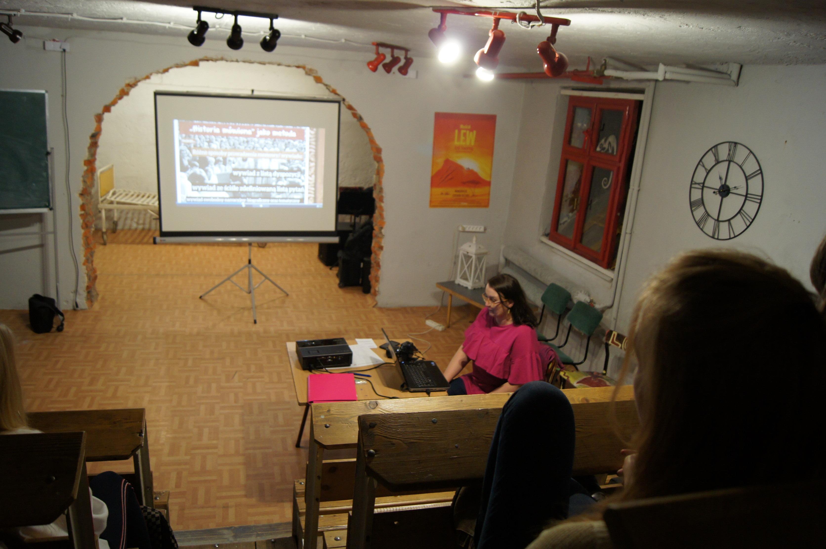Drugie warsztaty z Historii Mówionej w andrychowskim LO